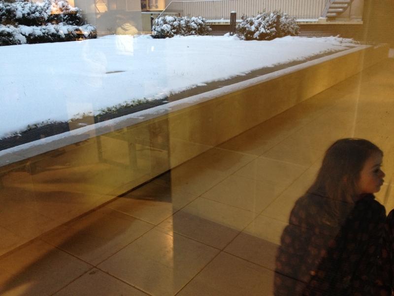neve riflesso chiara