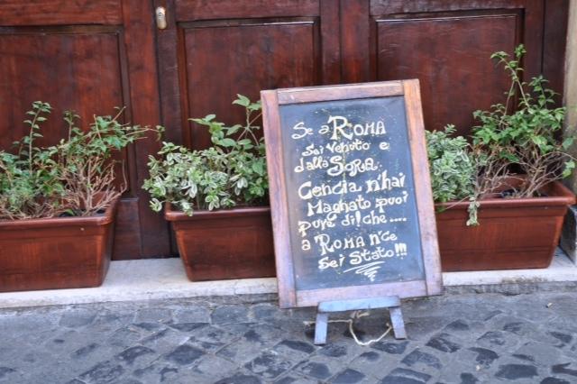 Roma Trastevere sora lella