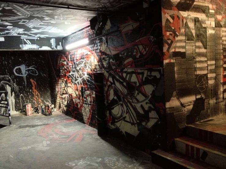 Palais de Tokyo graffiti bis